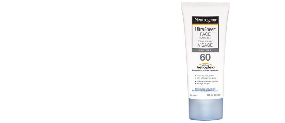NEUTROGENA® Ultra Sheer® SPF 60 Face