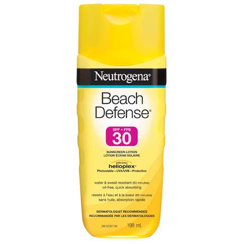 NEUTROGENA® BEACH DEFENSE®  Sunscreen Lotion SPF 30