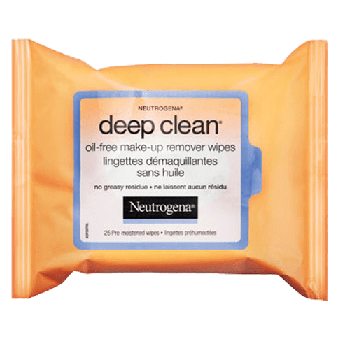 NEUTROGENA DEEP CLEAN® Oil-Free Make-Up Remover Wipes