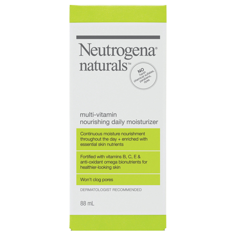 NEUTROGENA NATURALS® Multi-Vitamin Nourishing Daily Moisturizer