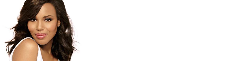 Kerry Washington smiling for NEUTROGENA® what's new section