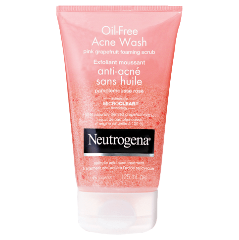 NEUTROGENA®OIL-FREE Pink Grapefruit Foaming Scrub