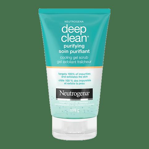 NEUTROGENA Deep Clean® Purifying Cooling Gel Scrub