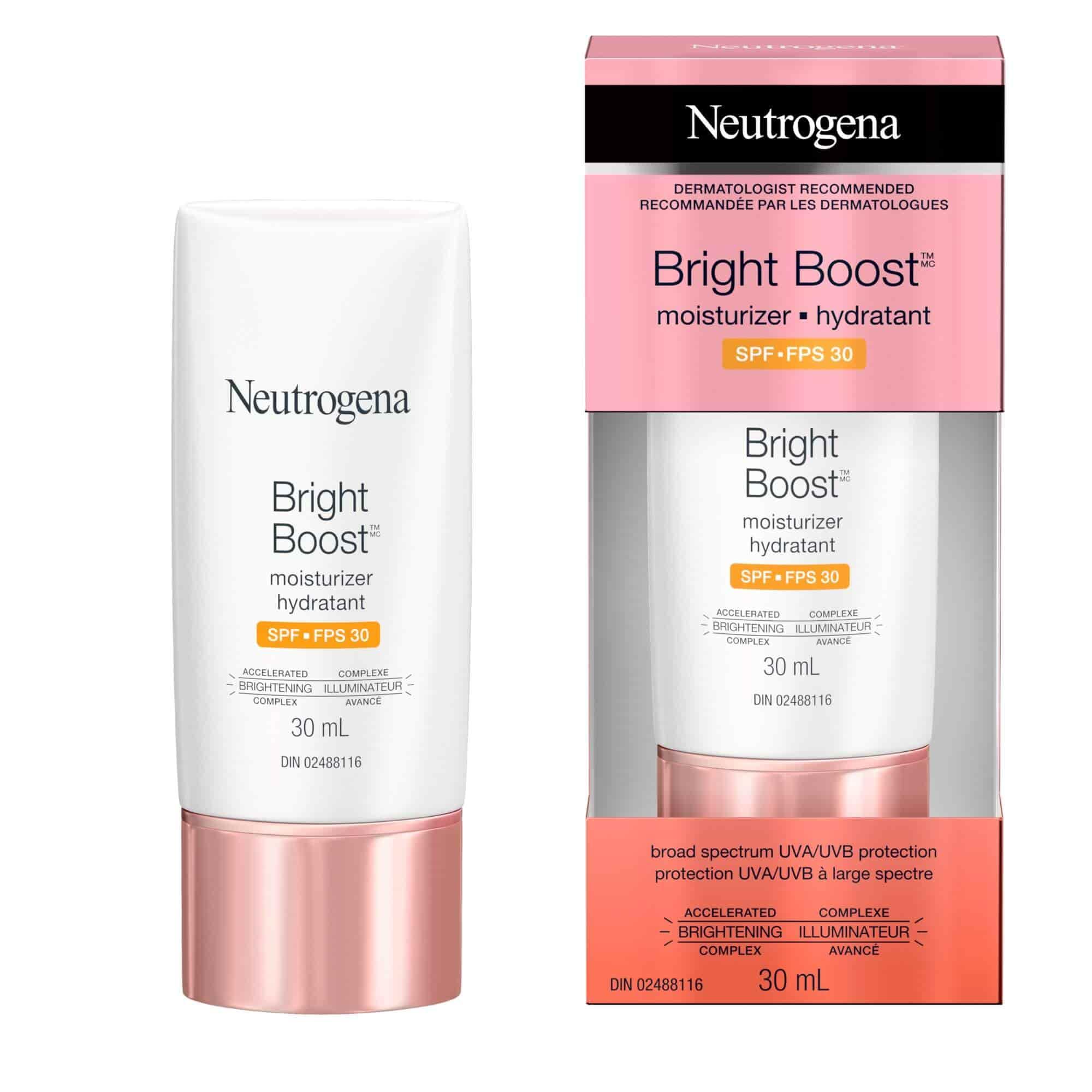 Neutrogena Bright Boost™ Moisturizer SPF 30, 30 ml