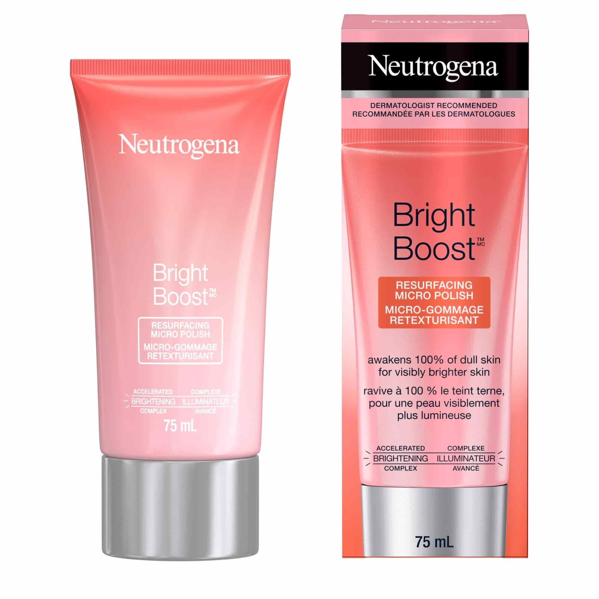 Neutrogena Bright Boost™ Resurfacing Micro Polish, 75 ml