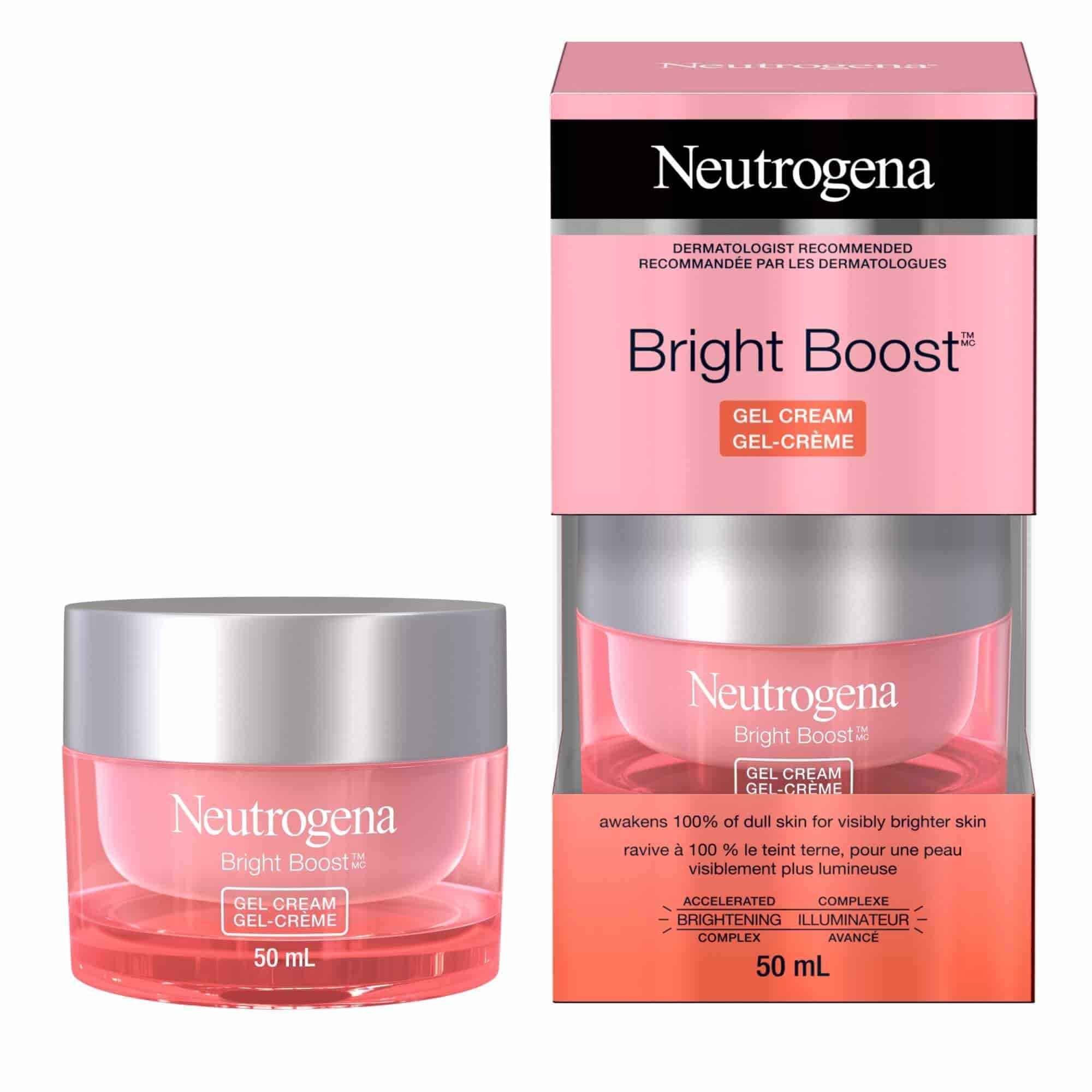 Neutrogena Bright Boost™ Gel Cream, 50 ml