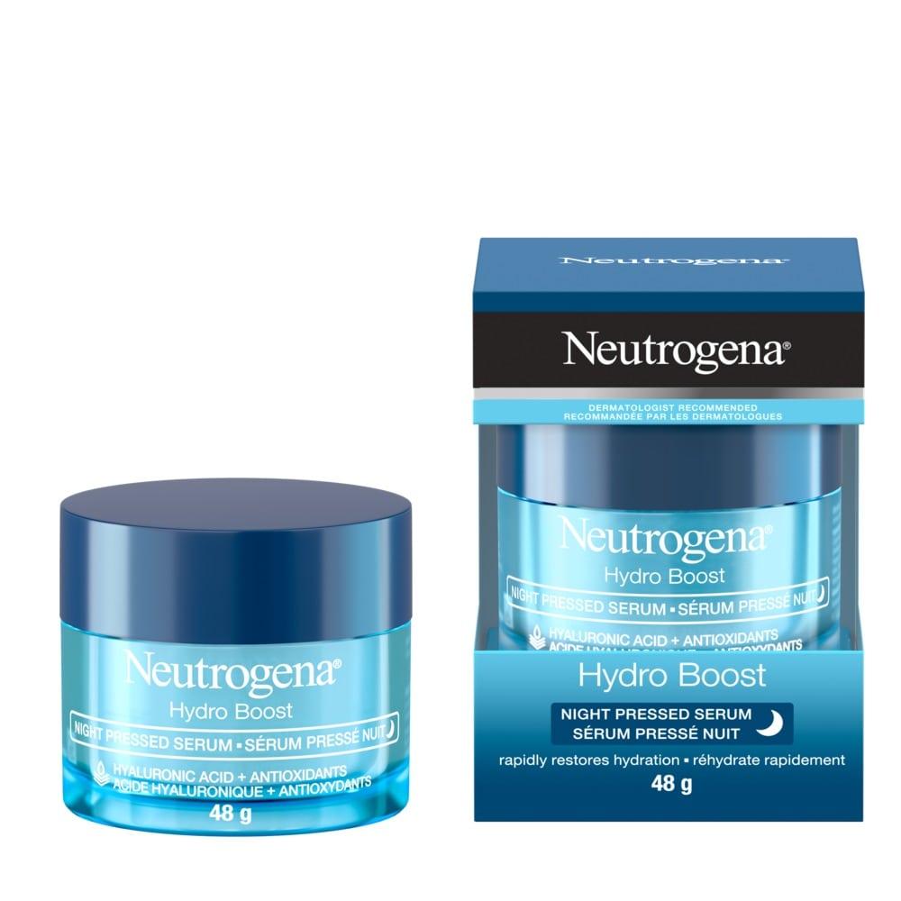Neutrogena Hydro Boost Night Pressed Serum, 48g