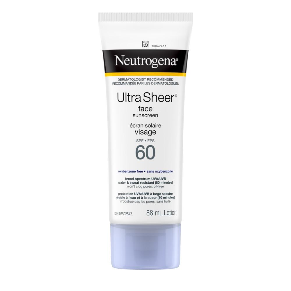 NEUTROGENA® ULTRA SHEER® Face Sunscreen