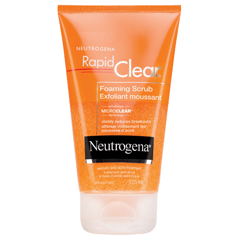 NEUTROGENA® RAPID CLEAR® Foaming Scrub