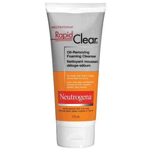 NEUTROGENA® RAPID CLEAR® Oil-Removing Foaming Cleanser