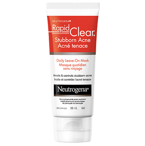 NEUTROGENA RAPID CLEAR® Stubborn Acne Daily Leave-On Mask