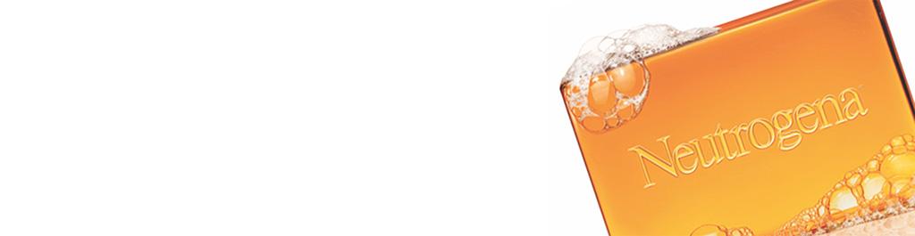 NEUTROGENA® bar soap with bubbles