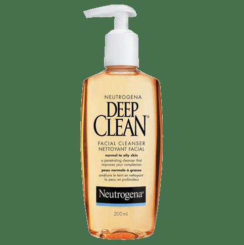 NEUTROGENA®DEEP CLEAN®Facial Cleanser