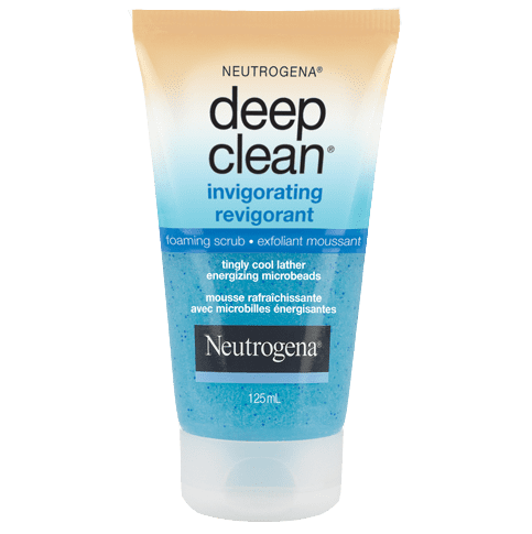 NEUTROGENA® DEEP CLEAN® Invigorating Foaming Scrub