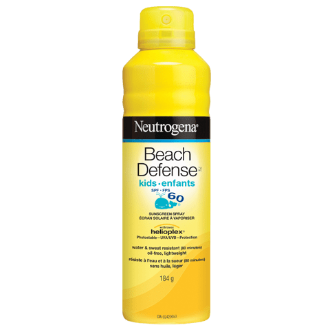 NEUTROGENA® BEACH DEFENSE® Sunscreen Spray Kids