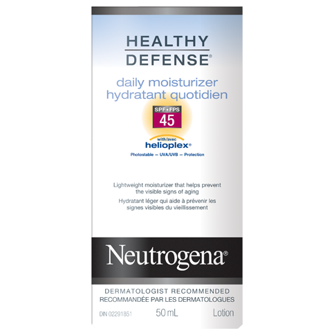 NEUTROGENA® HEALTHY DEFENSE® Daily Moisturizer SPF 45