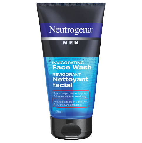 NEUTROGENA® MEN® Invigorating Face Wash