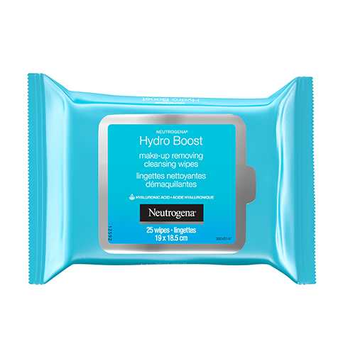 Neutrogena Hydro Boost Make-up Removing Cleansing Wipes Package