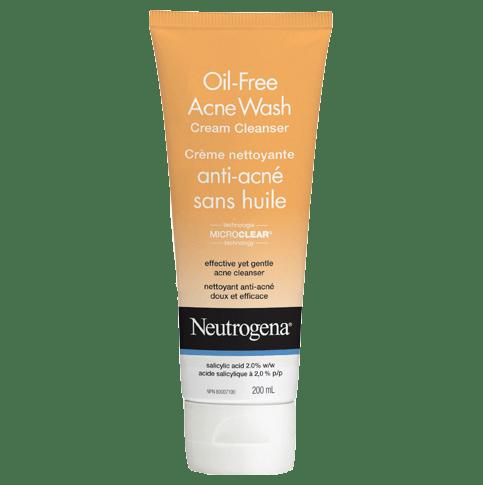 NEUTROGENA®OIL-FREE Acne Wash Cream Cleanser