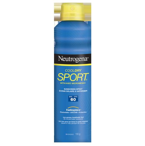 NEUTROGENA® COOLDRY SPORTTM Spray SPF 60