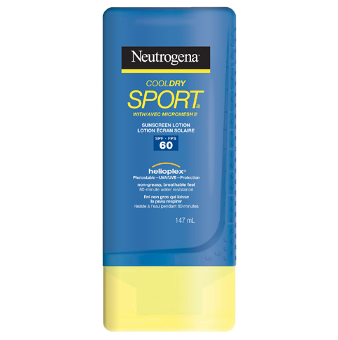 NEUTROGENA® COOLDRY SPORTTM Sunscreen Lotion SPF 60