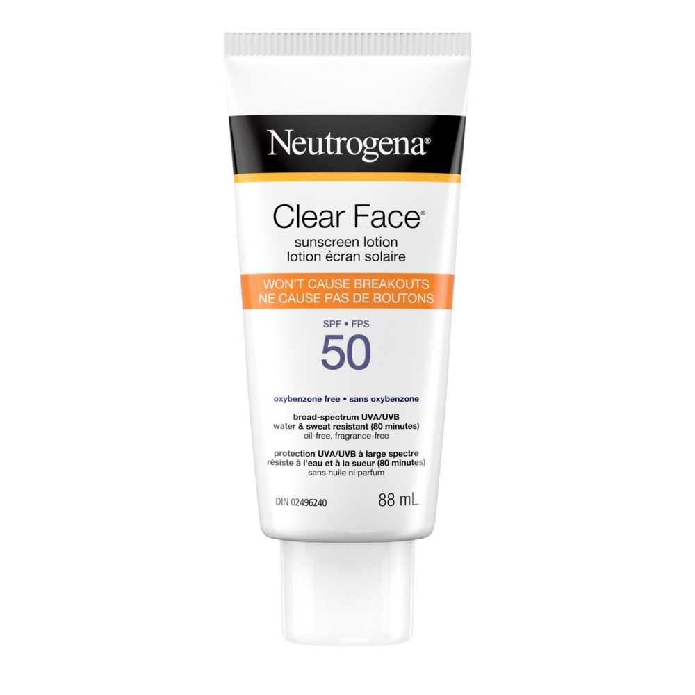NEUTROGENA CLEAR FACE® Lotion SPF 50