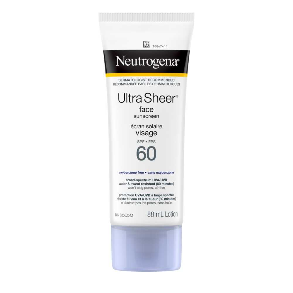 NEUTROGENA® ULTRA SHEER® Face Sunscreen SPF 60