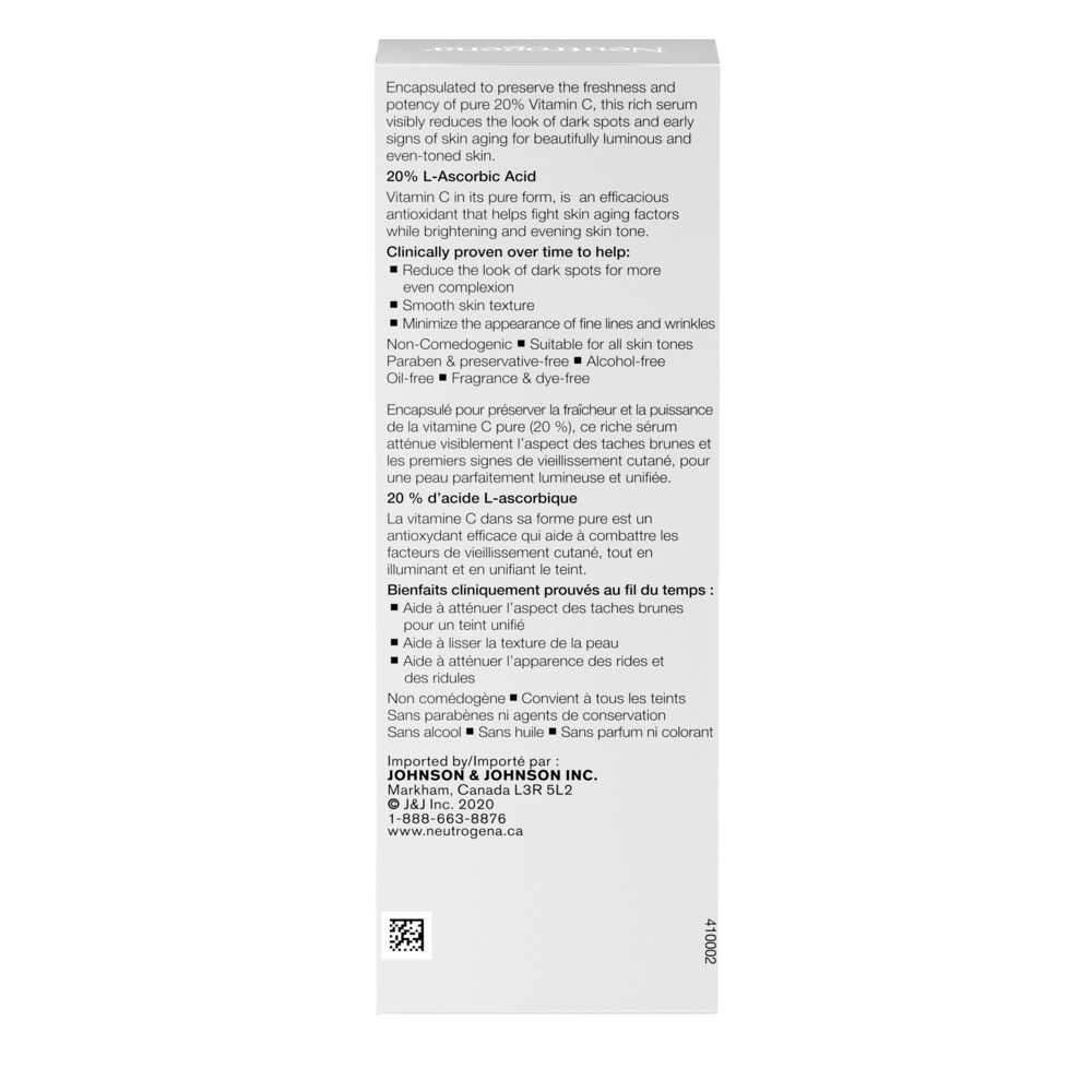 Neutrogena Rapid Tone Repair 20% Vitamin C Serum Capsules