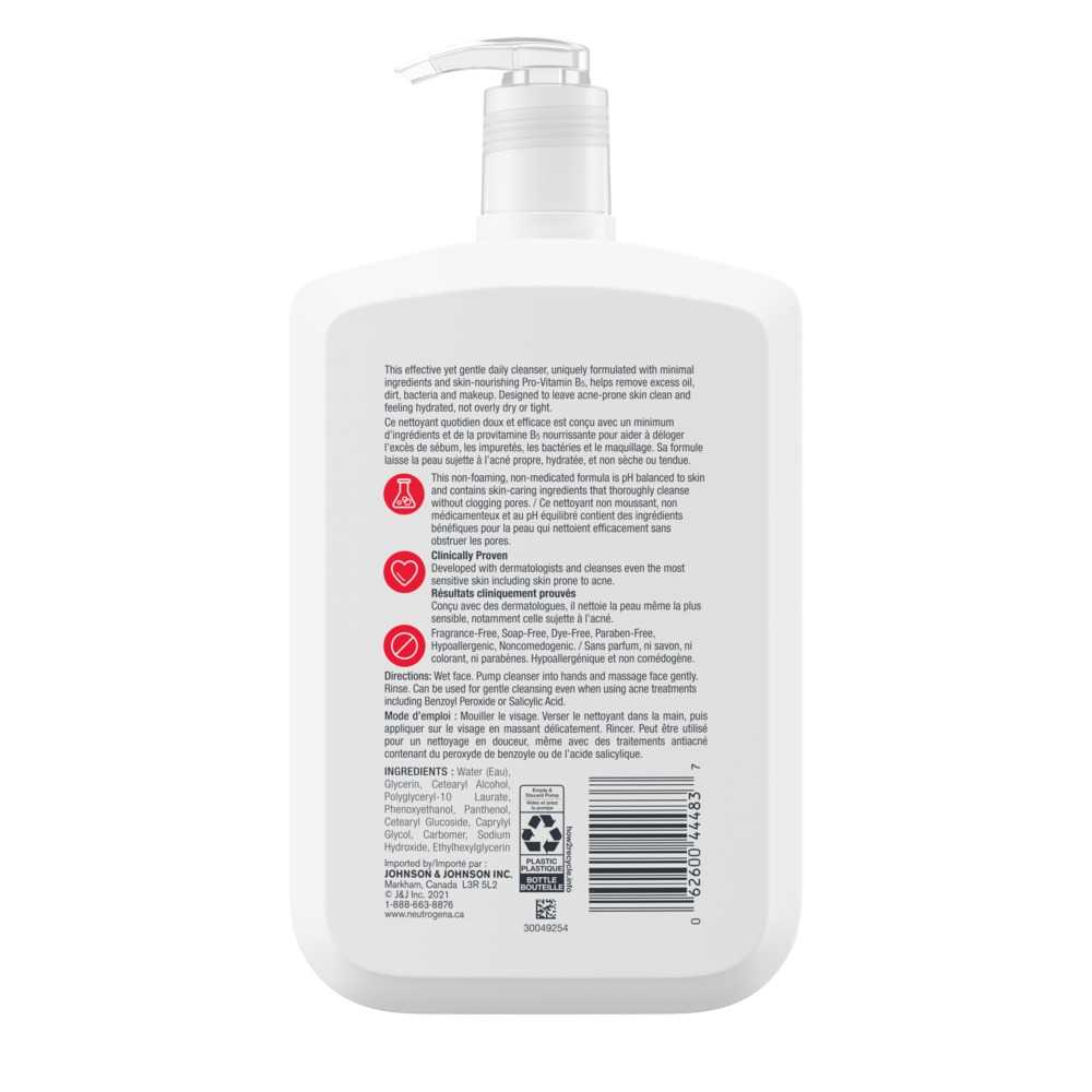 Neutrogena Ultra Gentle Daily Cleanser with Pro-Vitamin B5