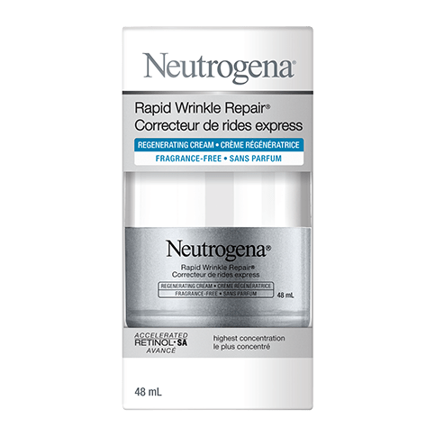 NEUTROGENA® RAPID WRINKLE REPAIR® Regenerating Cream Fragrance Free