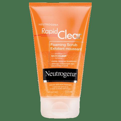 NEUTROGENARAPID CLEAR® Foaming Scrub