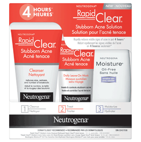 Rapid Clear Stubborn Acne Solution Neutrogena