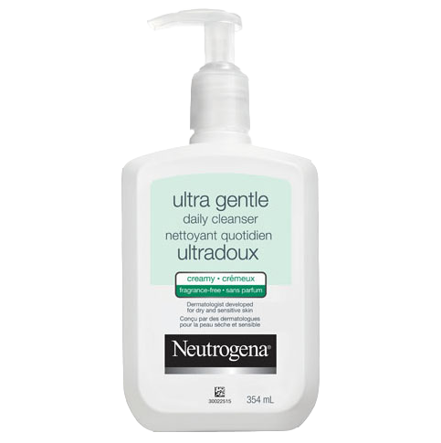NEUTROGENA® Ultra Gentle Daily Cleanser Fragrance-Free Creamy Formula
