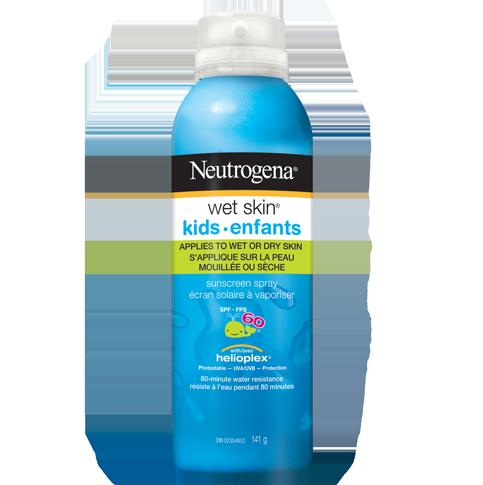 NEUTROGENA® WET SKIN® Kids Sunscreen Spray