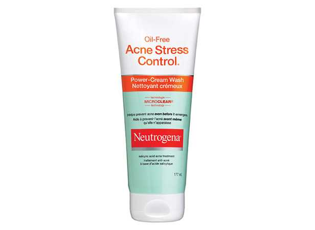 NEUTROGENA® ACNE STRESS CONTROL® Power-Cream Wash