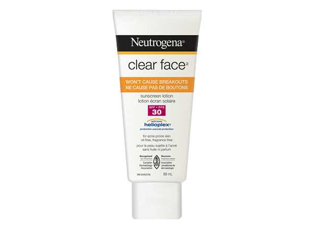 NEUTROGENA® Clear FaceTM Sunscreen Lotion SPF 30