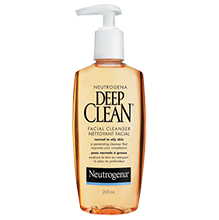 NEUTROGENA® DEEP CLEAN® Facial Cleanser