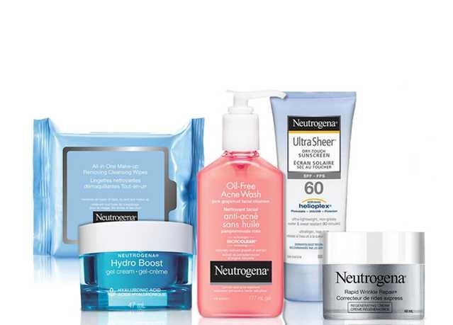 NEUTROGENA® Face Product Grouping