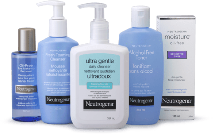Neutrogena gentle essentials facial cleansing products