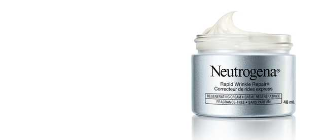 Neutrogena Rapid Wrinkle Repair Regenerating face cream for anti-aging, fragrance free