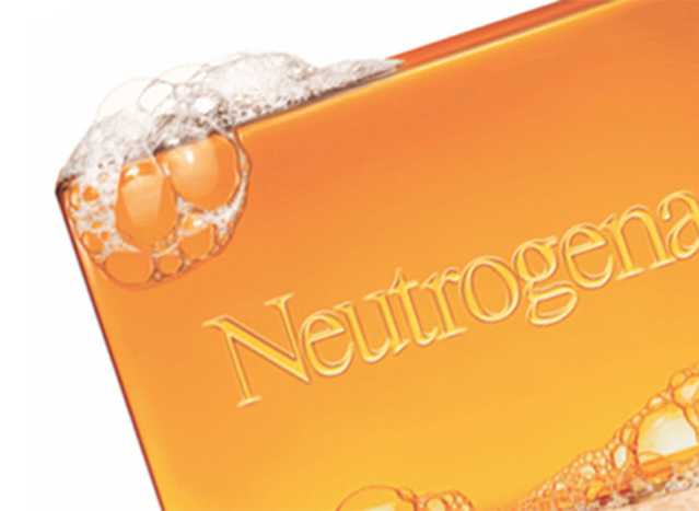 NEUTROGENA® bar soap with bubbles
