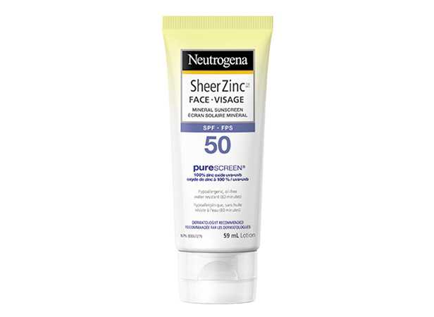 NEUTROGENA® Sheer ZincTM Face SPF 50