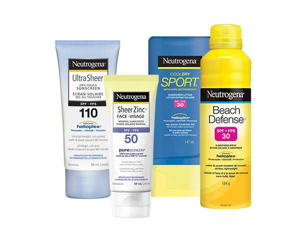 NEUTROGENA® Sun Protection Products