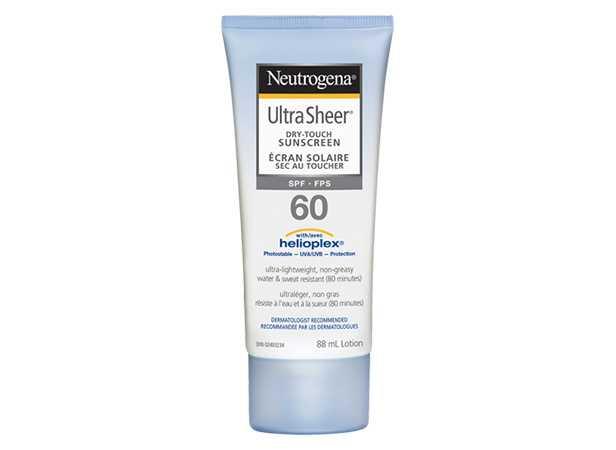 NEUTROGENA® ULTRA SHEER® Dry Touch Sunscreen SPF 60