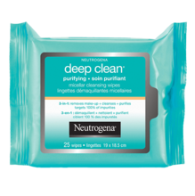NEUTROGENA Deep Clean® Purifying Micellar Cleansing Wipes