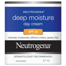 NEUTROGENA® Deep Moisture Day Cream SPF 20