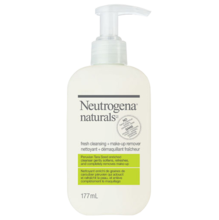 NEUTROGENA NATURALS® Fresh Cleansing + Make-Up Remover