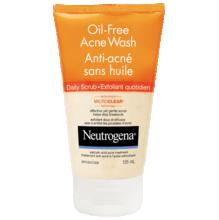 NEUTROGENA®OIL-FREE Acne Wash Daily Scrub