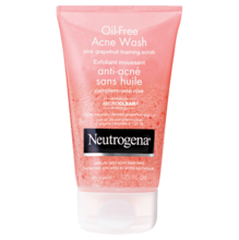 NEUTROGENA® OIL-FREE Pink Grapefruit Foaming Scrub