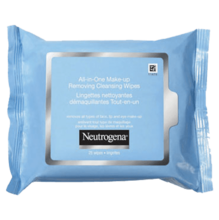 NEUTROGENA® ALL-IN-ONE Make-Up Removing Cleansing Wipes (25ct)